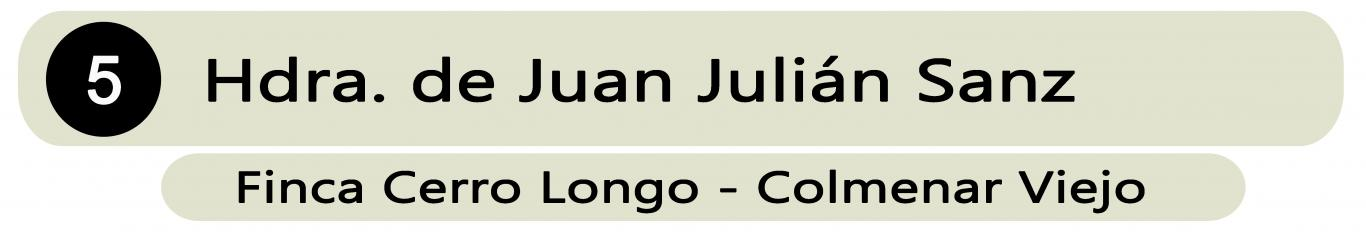 Heredera de Juan Julian Sánz