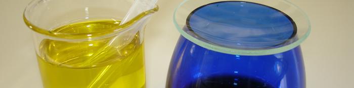 Recipientes para cata y análisis de aceites