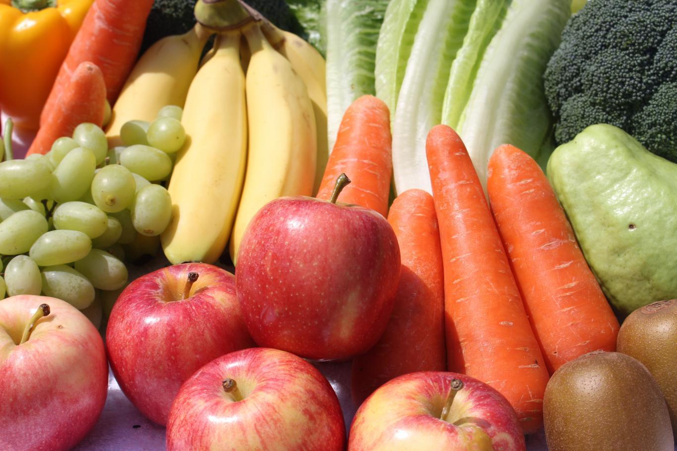 imagen hortalizas y frutas