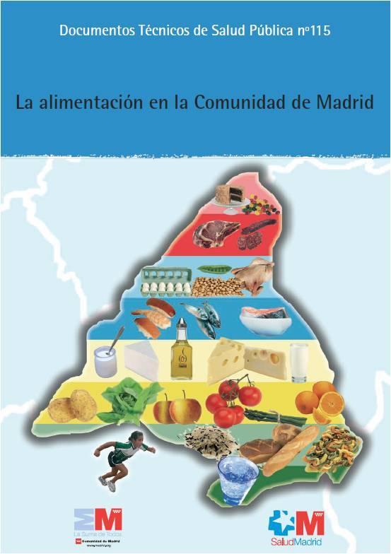 Imagen de la portada del estudio La alimentación en la Comunidad de Madrid