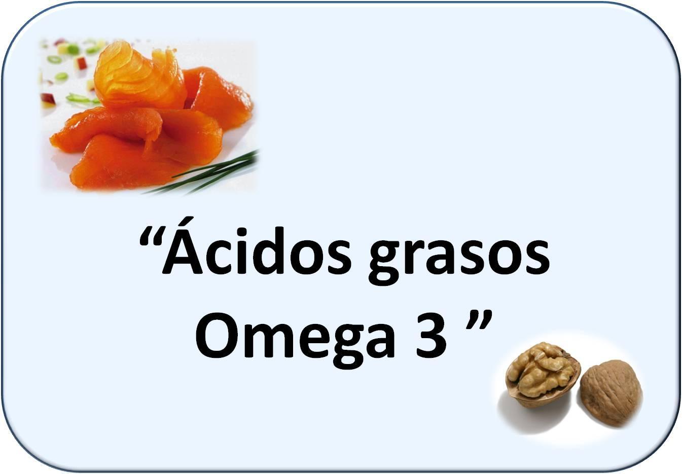 Simbología de Ácidos grasos Omega-3: salmón y nueces
