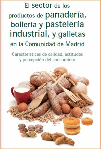 Imagen de la portada del estudio Panadería, bollería, pastelería industrial y galletas