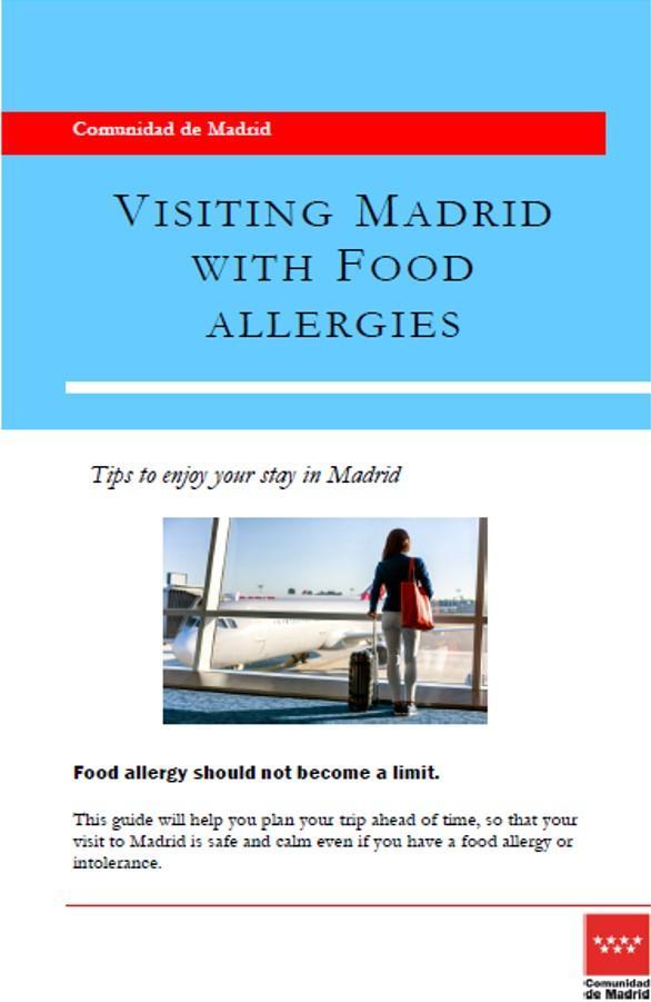 Publicaciones sobre alimentación | Comunidad de Madrid