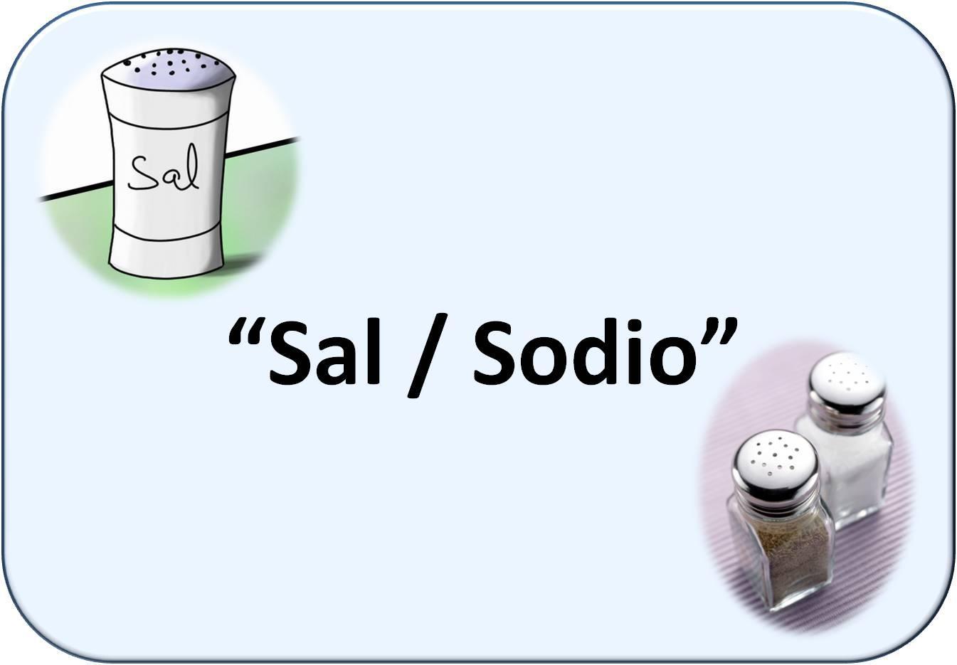 Simbología de sal: salero