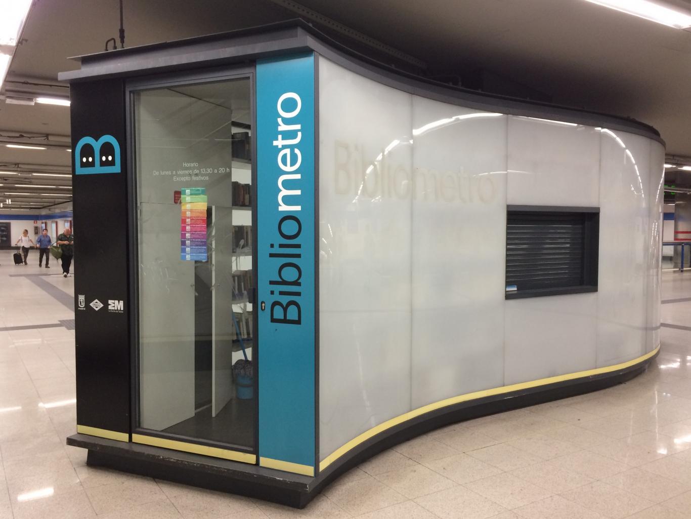 Módulo Bibliometro. Madrid