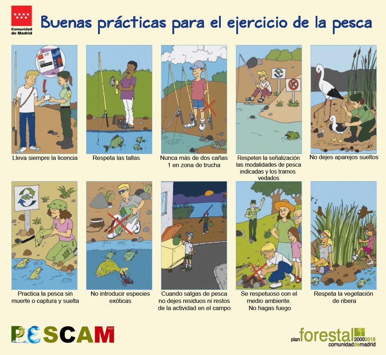 Decálogo buenas prácticas en la pesca