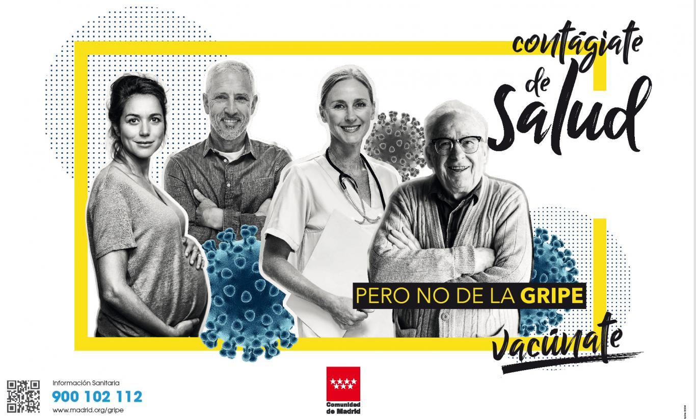 cartel campaña gripe 2019