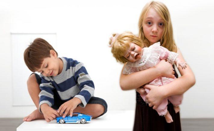 Niños desigualdad de género