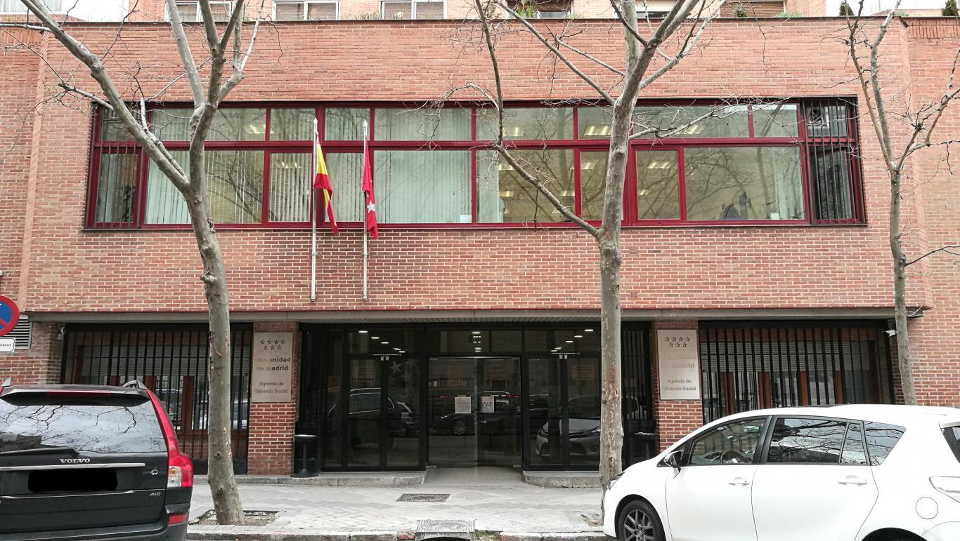 Agencia de Vivienda Social sede calle Basílica, 23