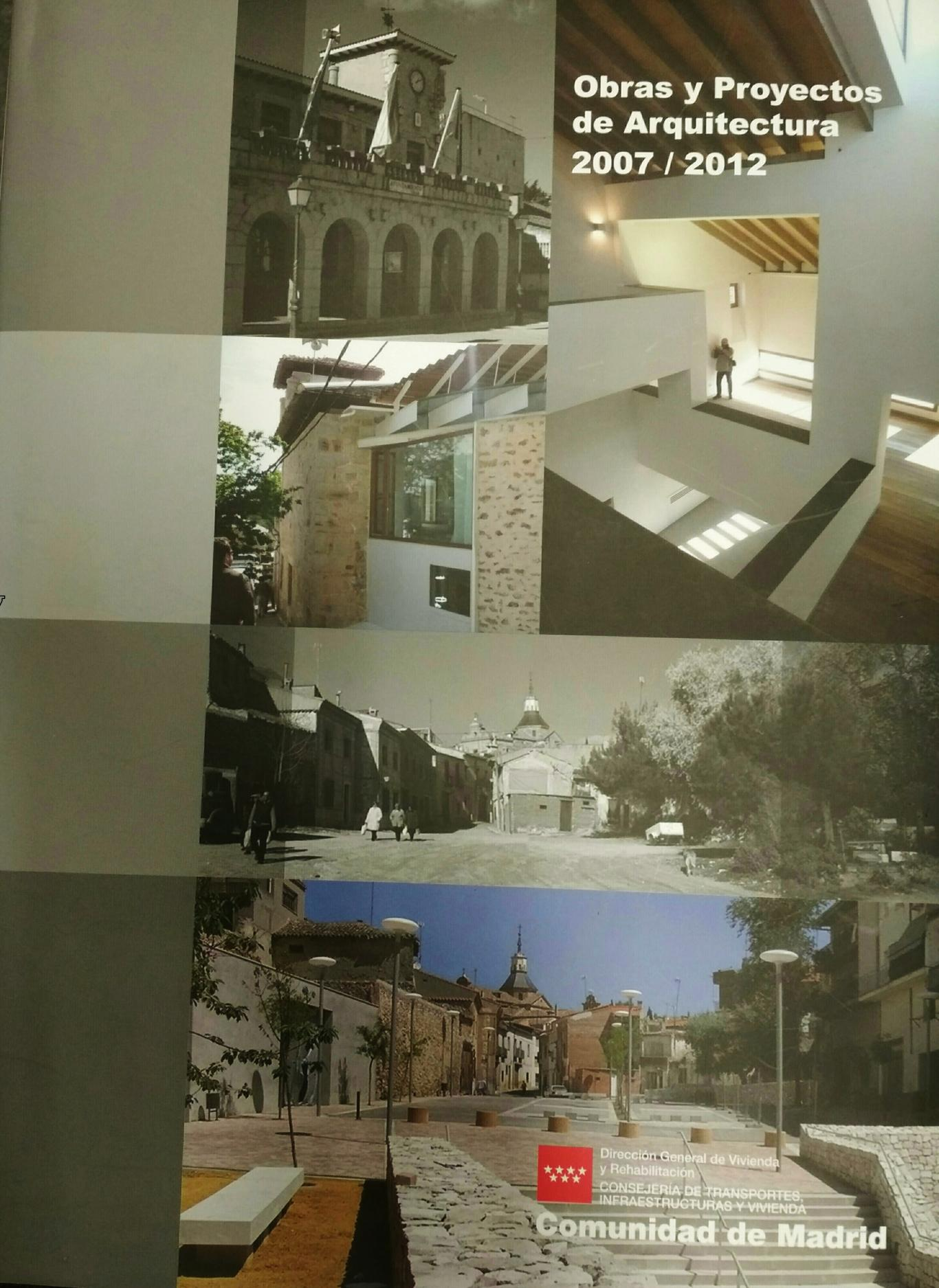 Imagen del libro de Obras y Proyectos de Arquitectura 2007-2012