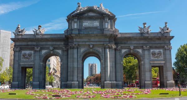 Imagen de la puerta de Alcalá