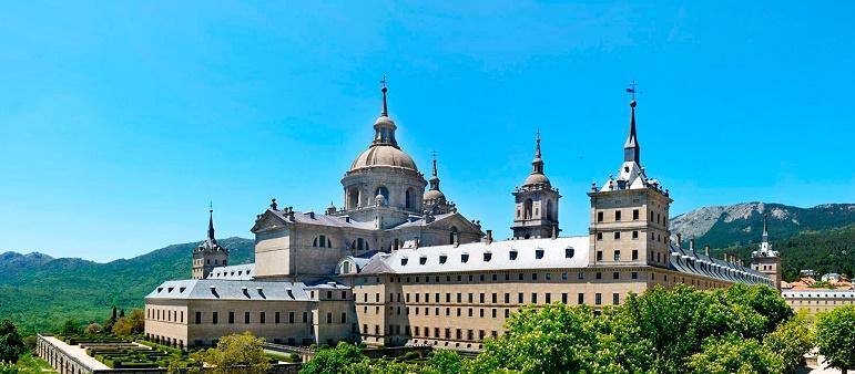 Imagen del Real Monasterio de San Lorenzo de El Escorial