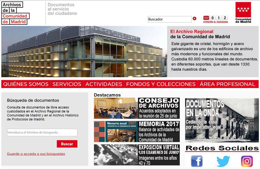 Home Portal de Archivos