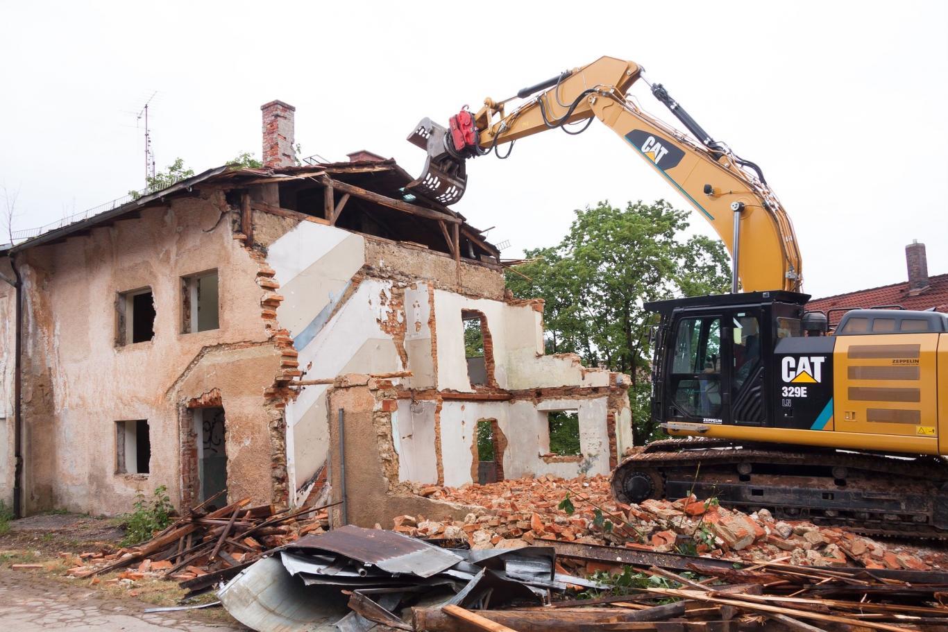 Residuos demolición