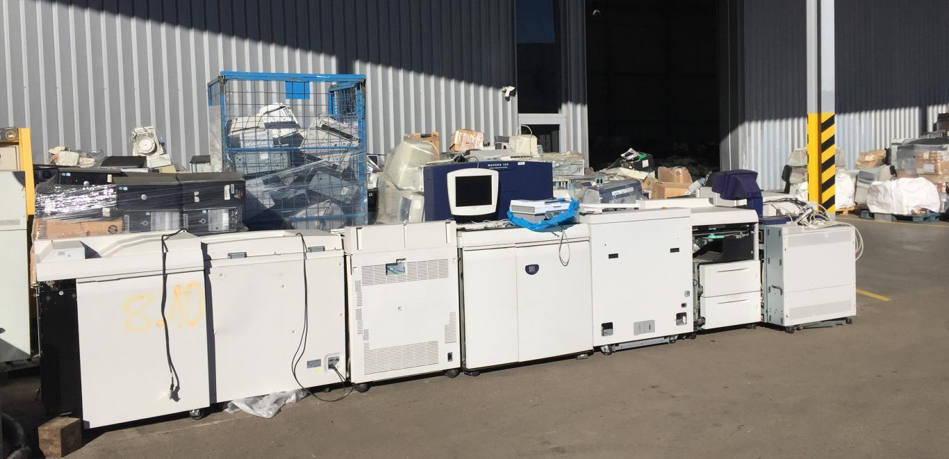 Instalaciones recogida y reciclaje de RAEE