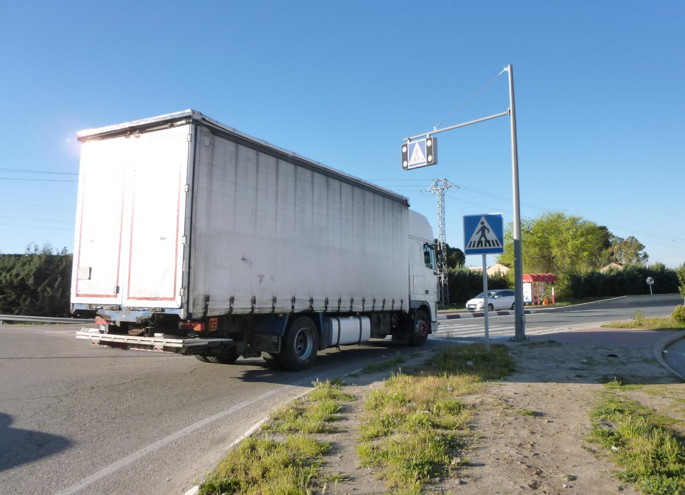 Camión Blanco