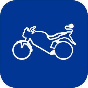 foto de motocicleta eléctrica