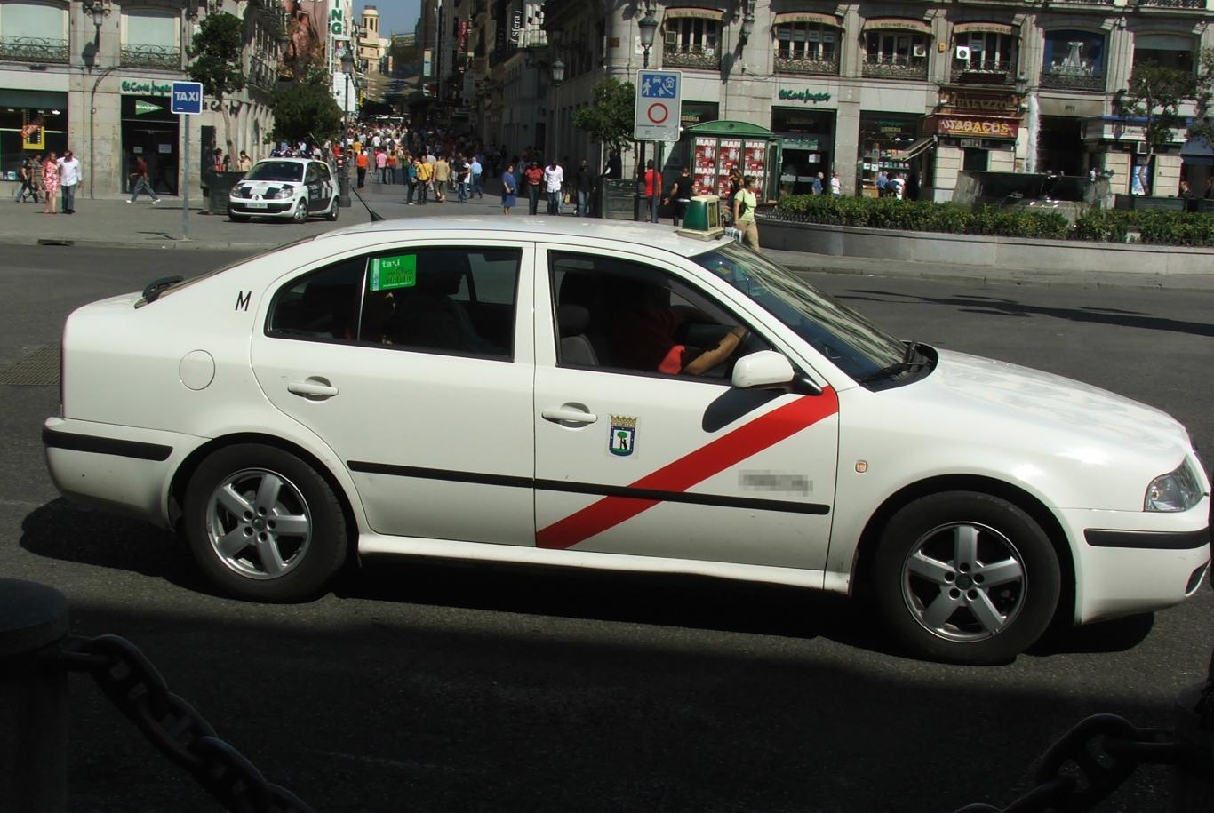 Taxi Madrid - Skoda