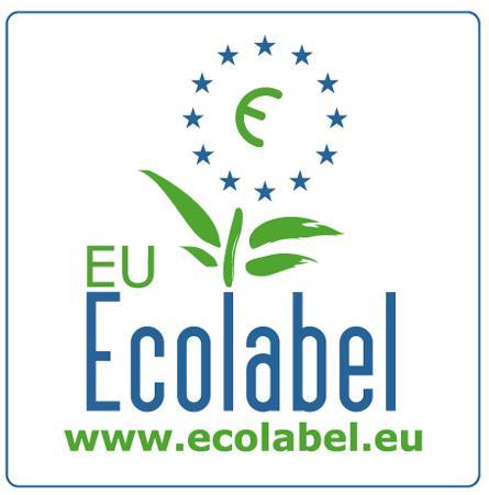 Logo Etiqueta ecológica Europea con recuadro