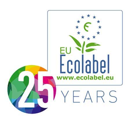 Logo Ecoetiqueta 25 años