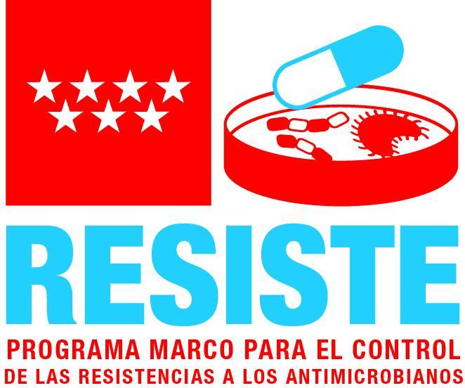 Logotipo programa Resiste de la Comunidad de Madrid