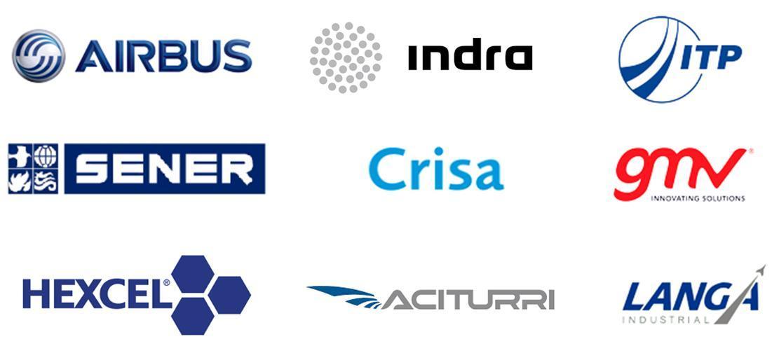 Logos empresas aeronáutico