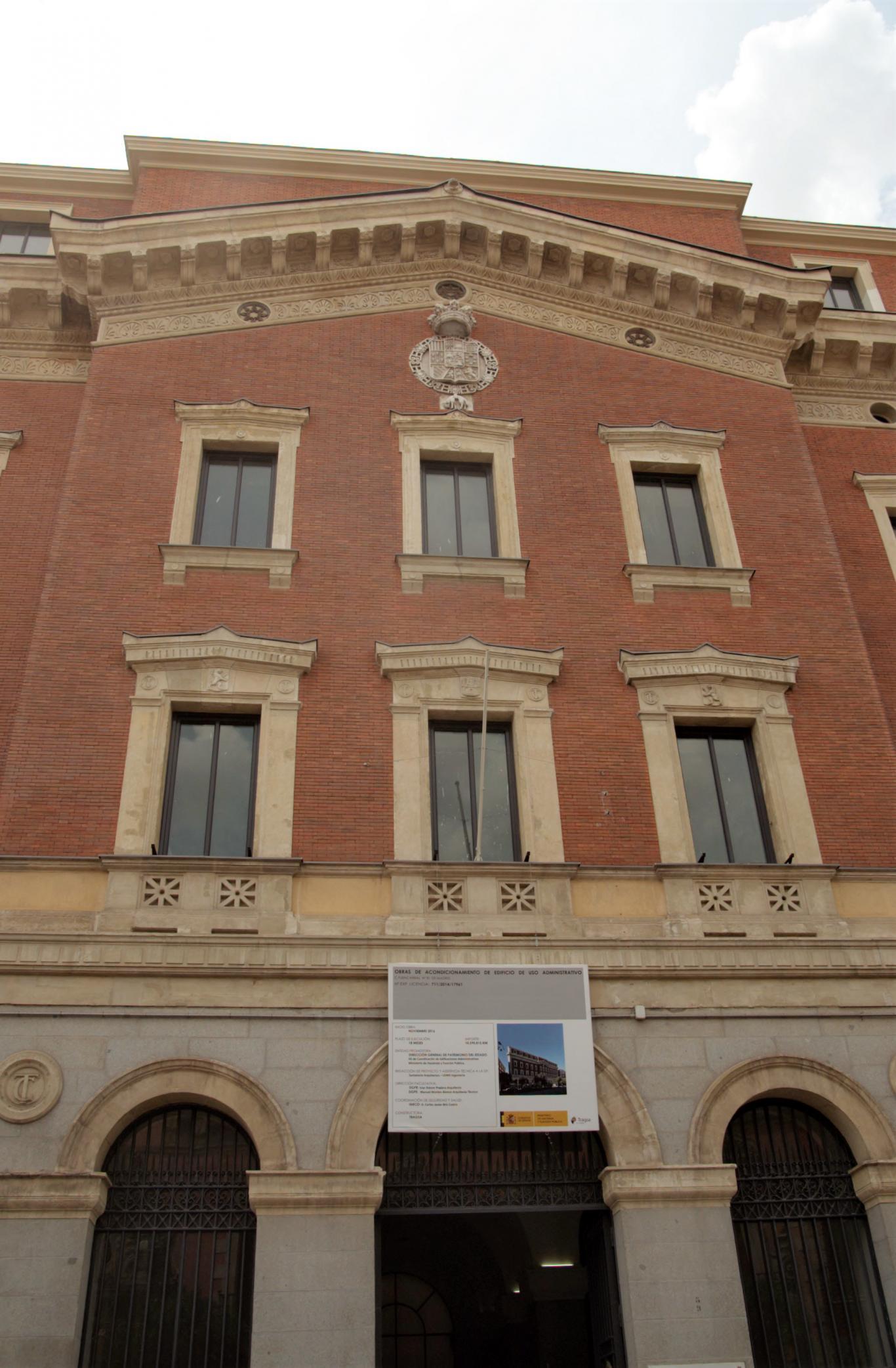 Tribunal de Cuentas. Madrid.