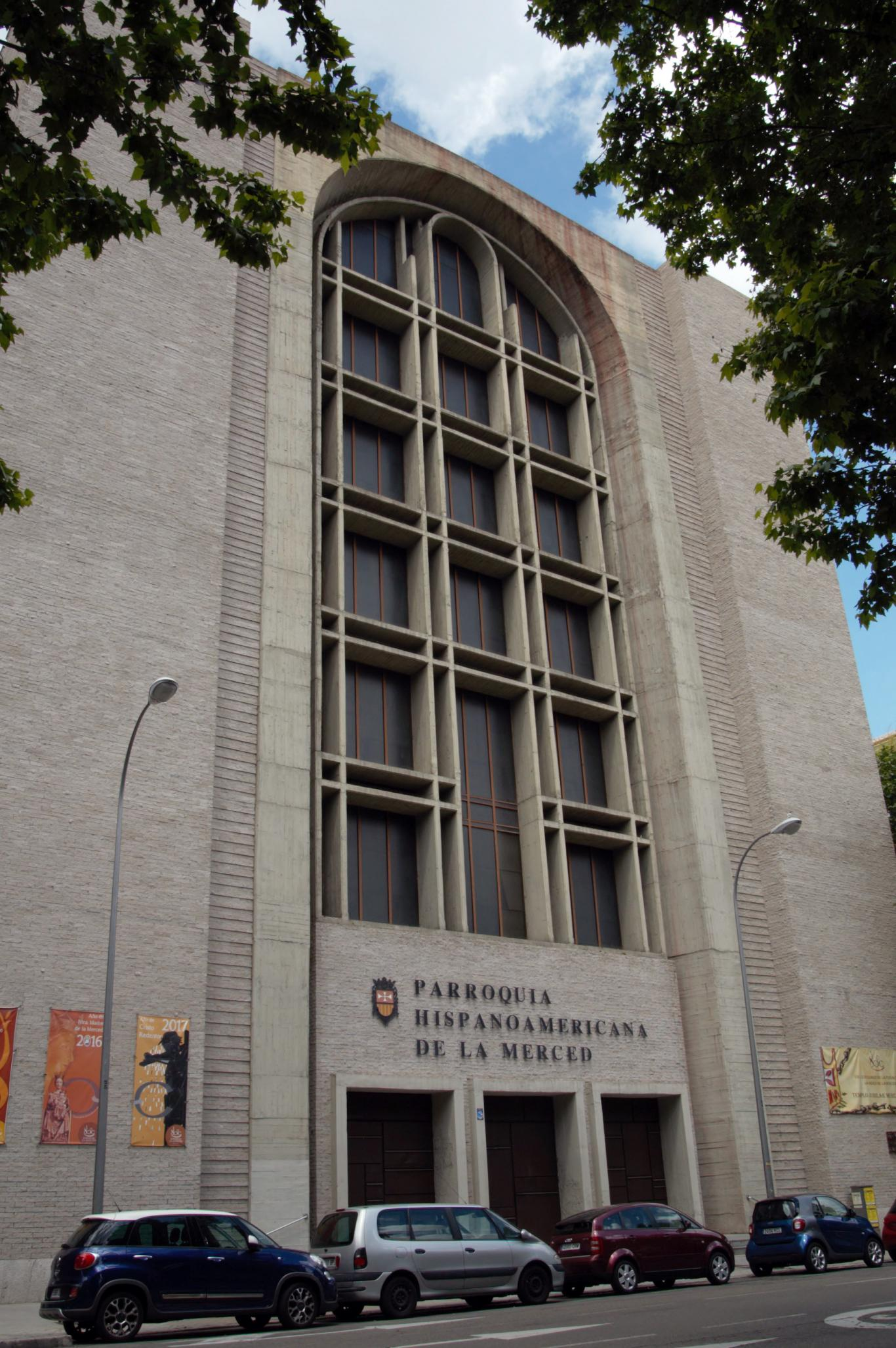 Iglesia Hispanoamericana de la Merced. Madrid.