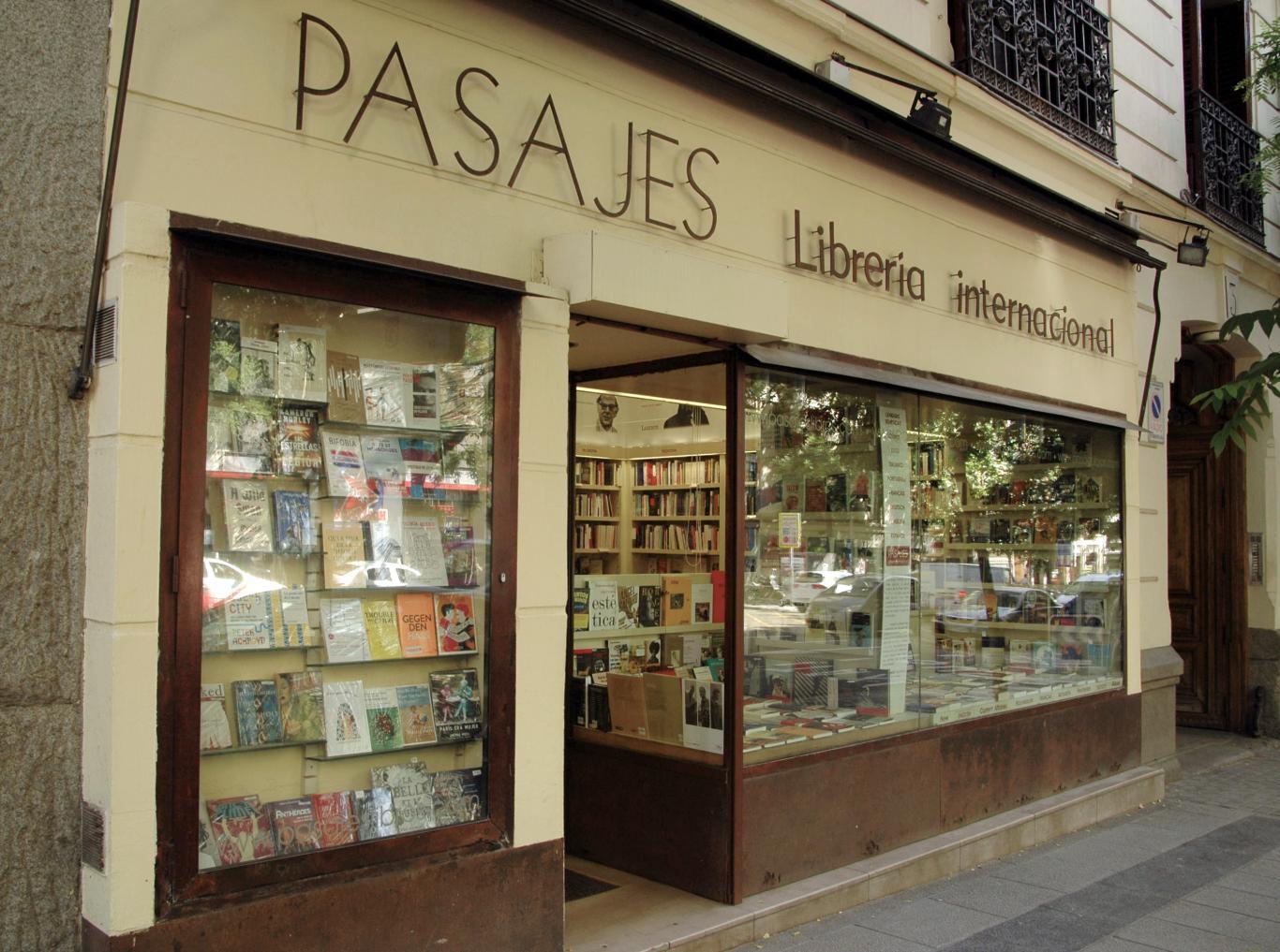 Librería Pasajes. Madrid.