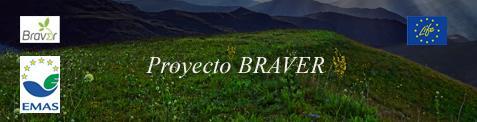 Imagen espacio natural con logo BRAVER