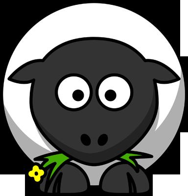 Viñeta de una oveja