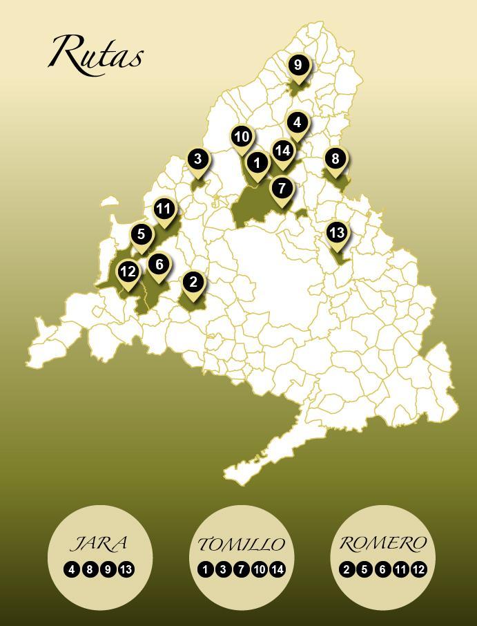 Mapa de localización Rutas del Toro