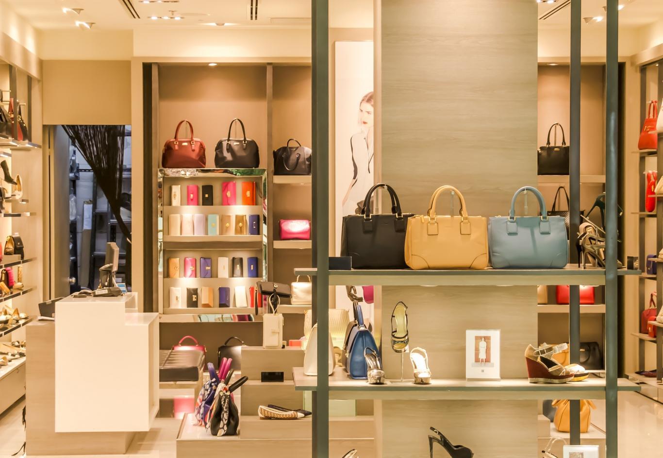 tienda bolsos y zapatos