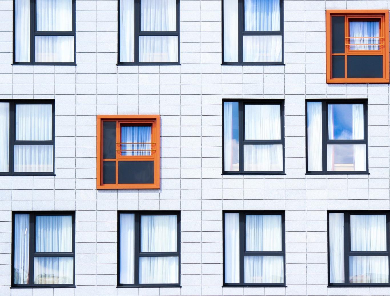 Fachada ventanas