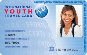 Imagen de la International Youth Travel Card