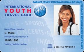 Imagen de la International Youth Travel Card