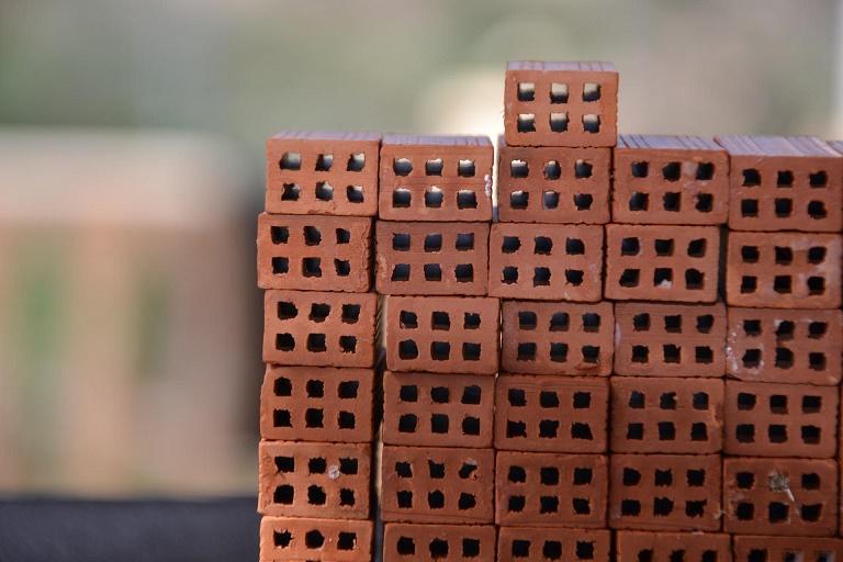 Imagen de una rima de ladrillos