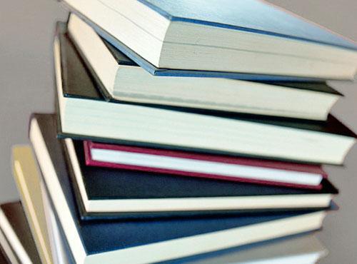 Imagen ilustrativa de libros apilados