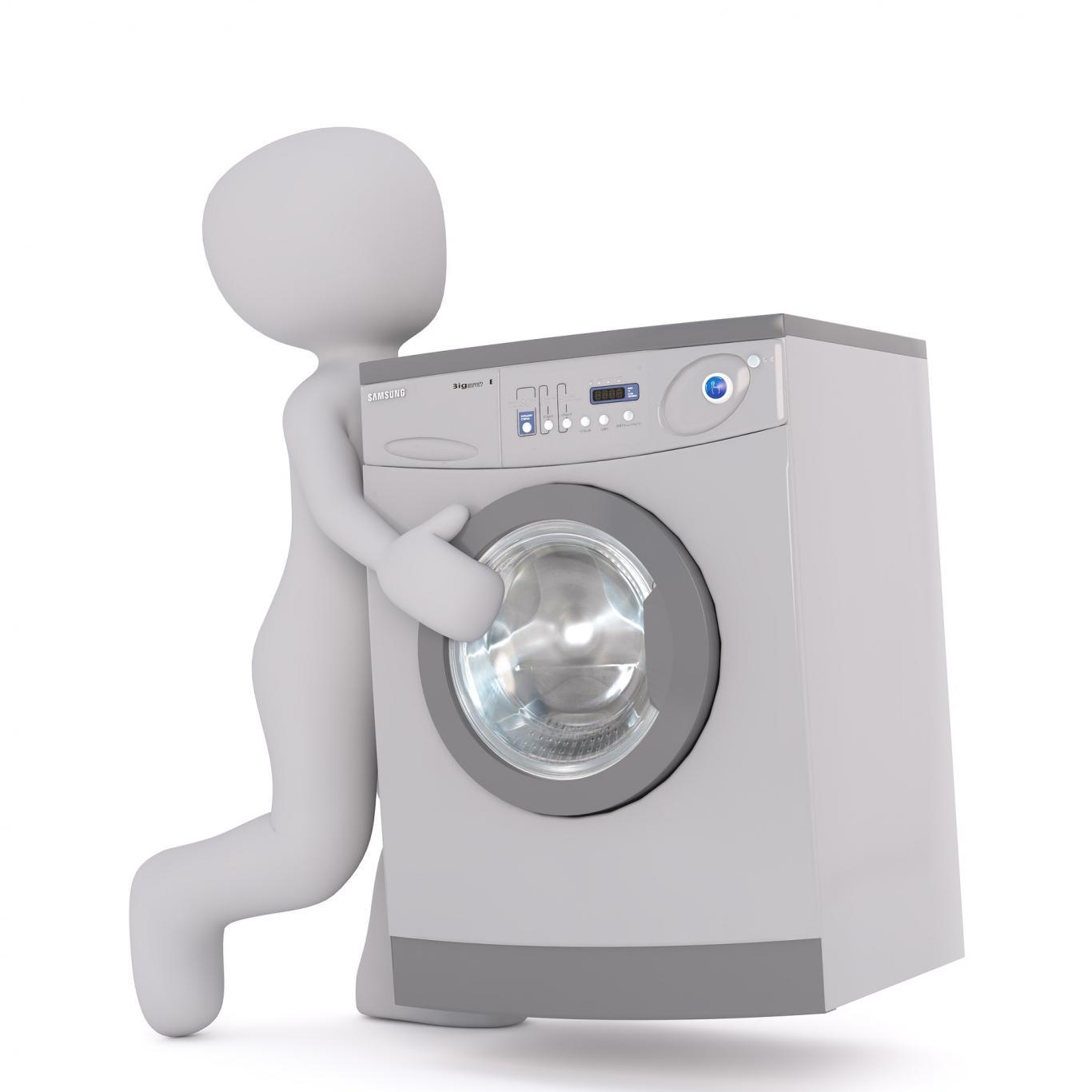 Traslado de lavadora