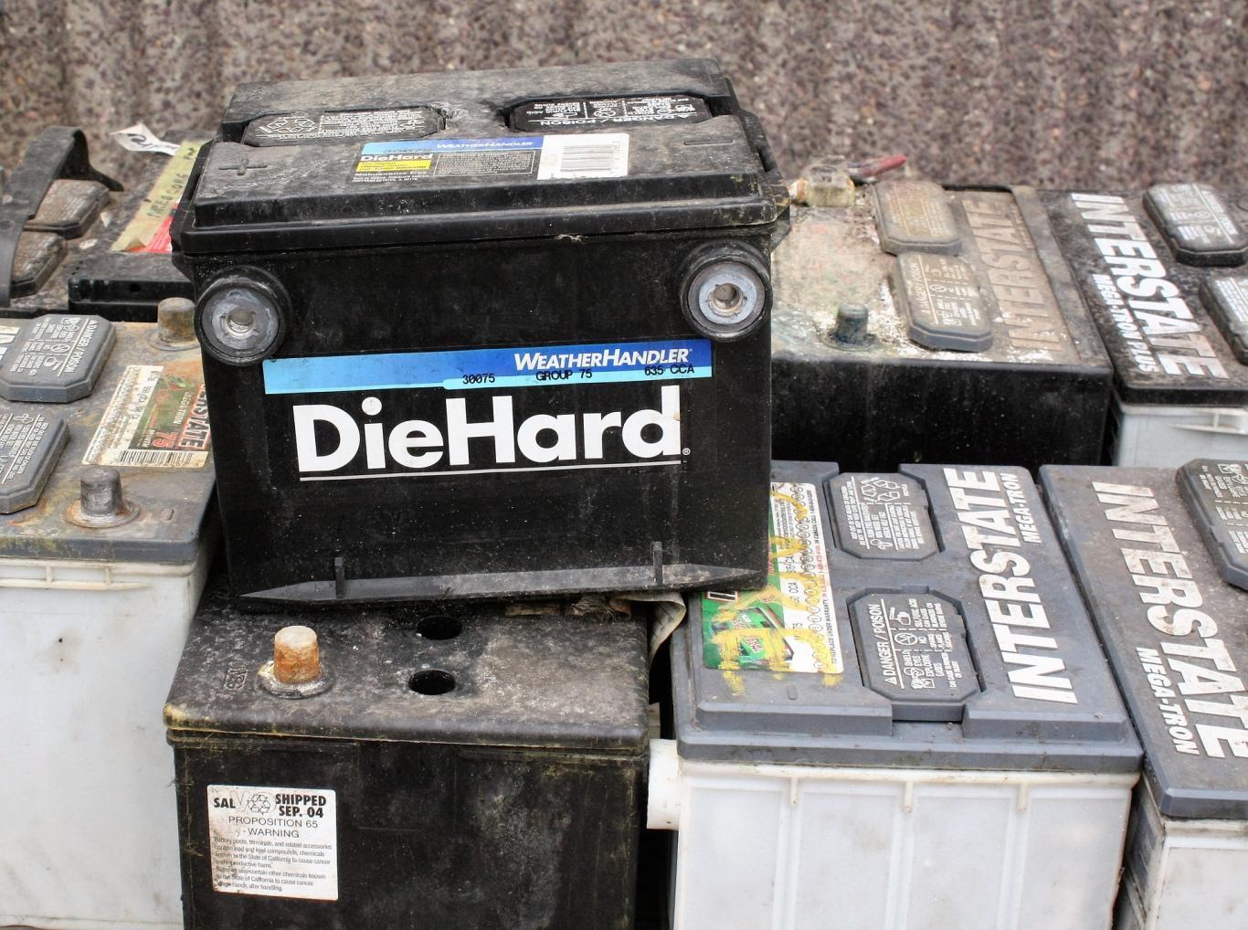 Residuos. Batería automoción