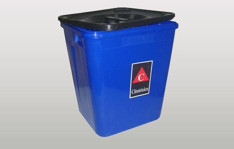 Contenedor residuos citotóxicos