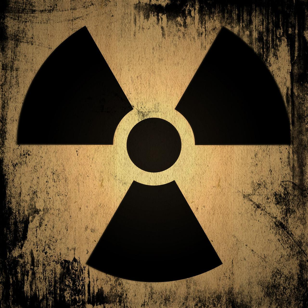 Símbolo radiactividad