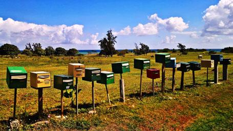 Servicios postales