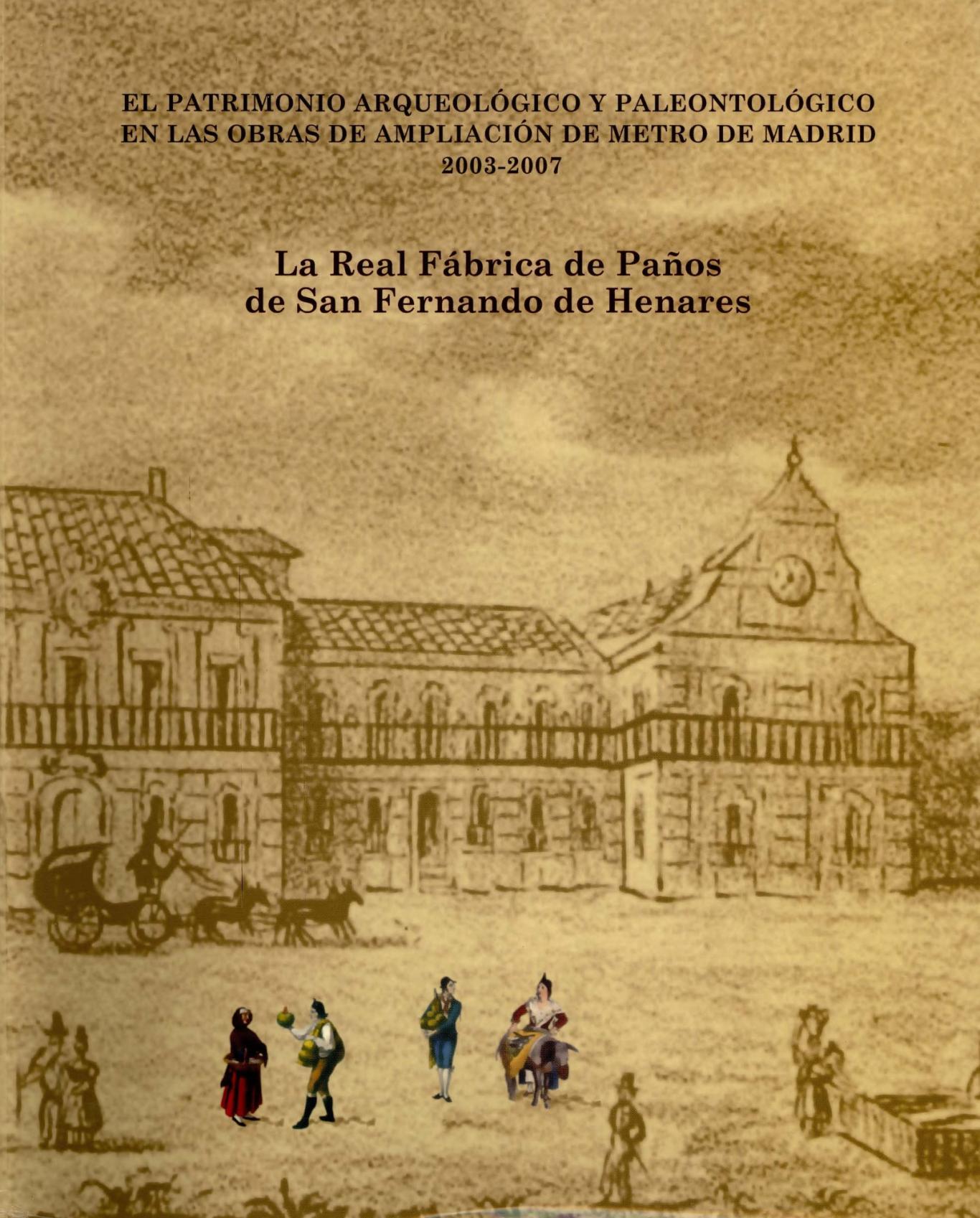 Portada del libro La Real Fábrica de San Fernando de Henares