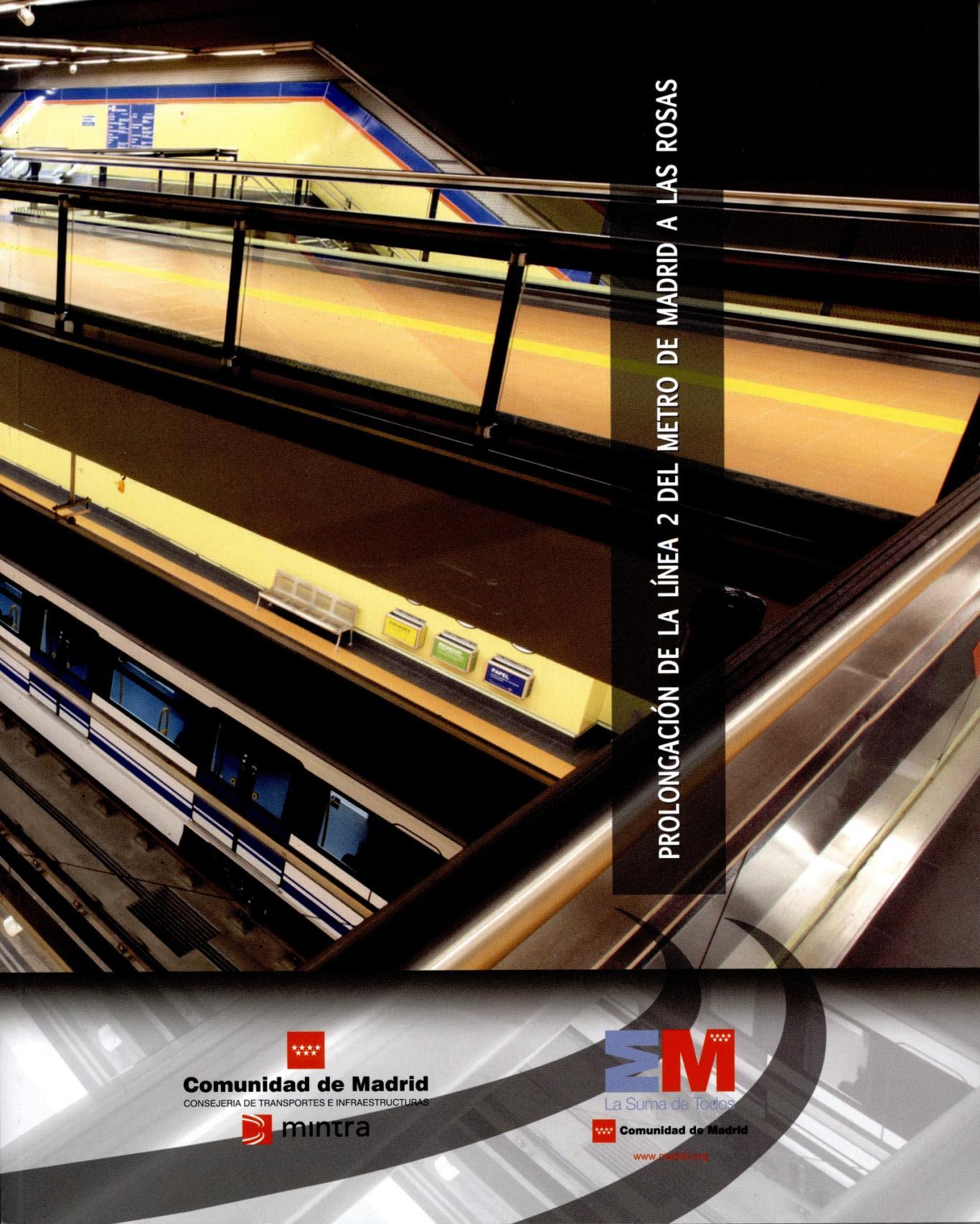 Portada del libro Prolongación de la Línea 2 del Metro