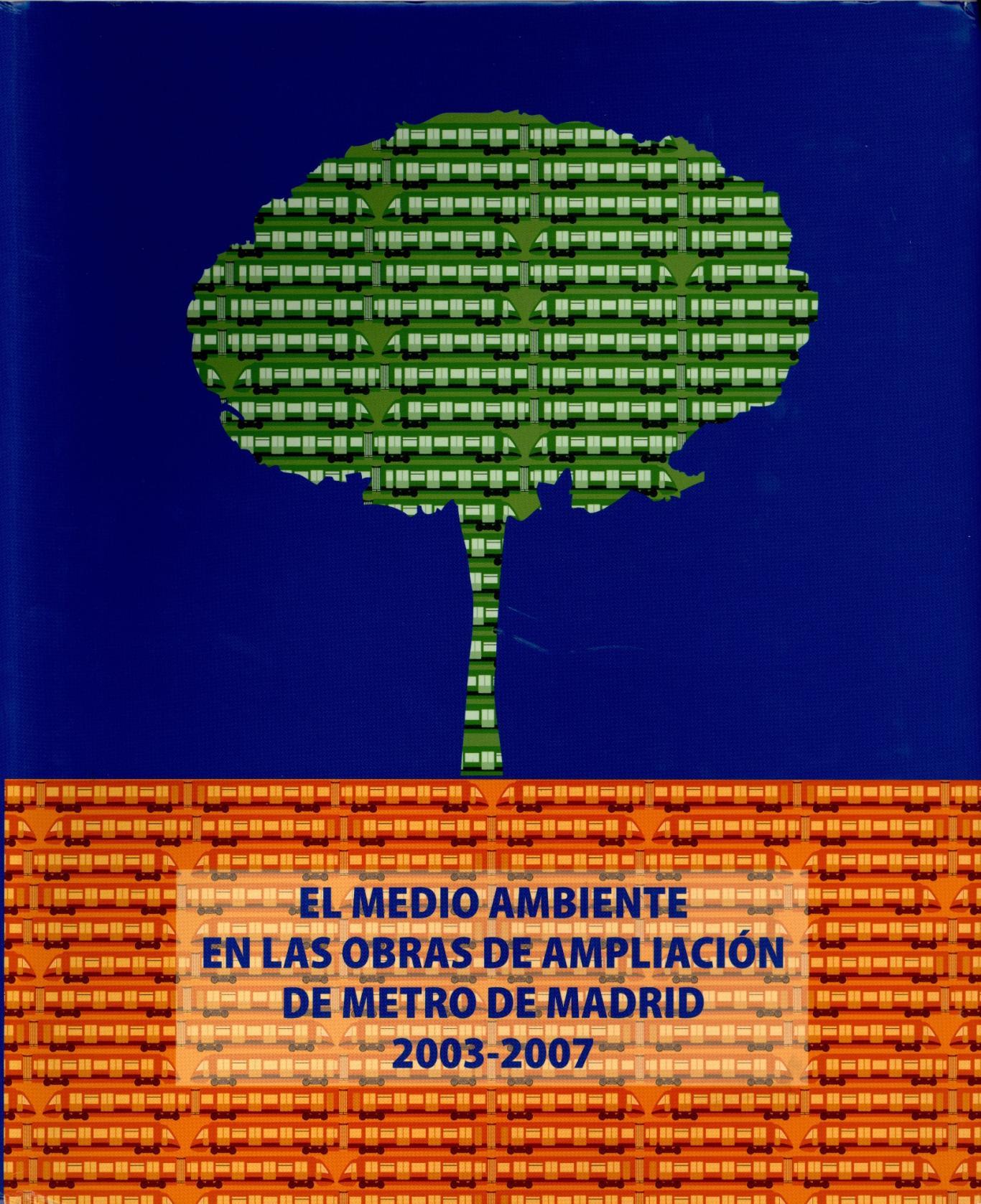 Portada del libro El medio ambiente en las obras de ampliación de metro