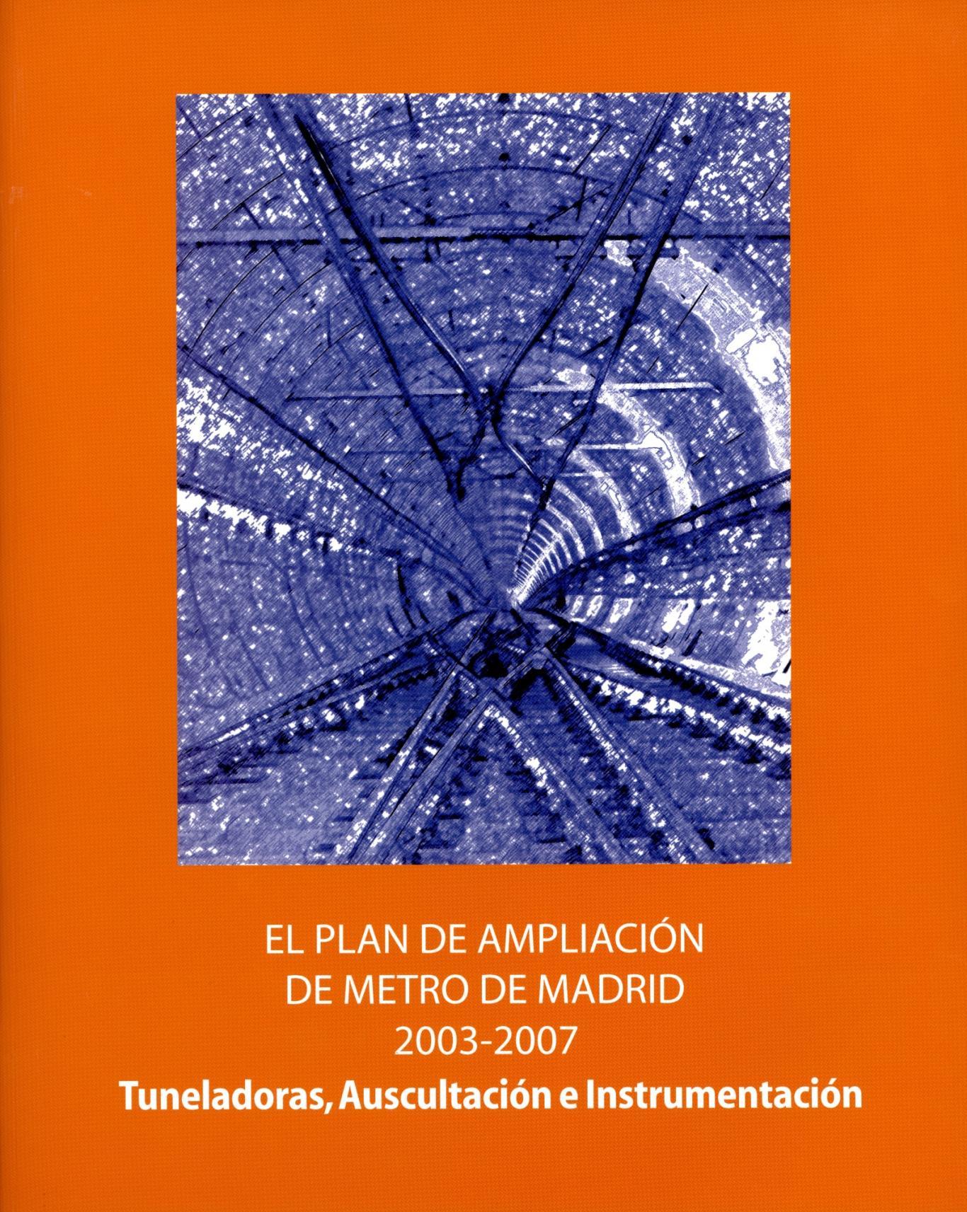 Portada del libro Tuneladoras, auscultación e instrumentación