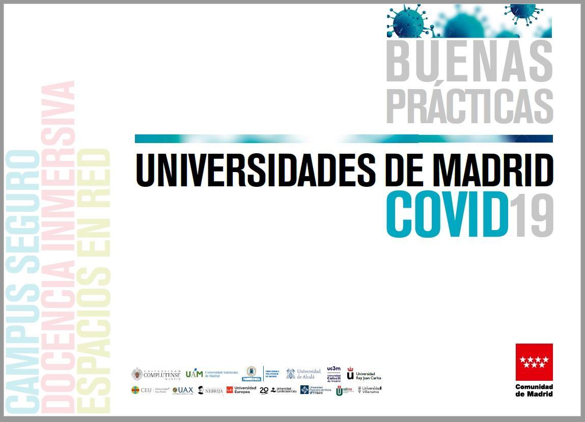 Portada documento Buenas prácticas universidades Covid19