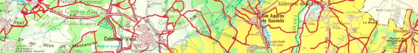Imagen del mapa de vías pecuarias