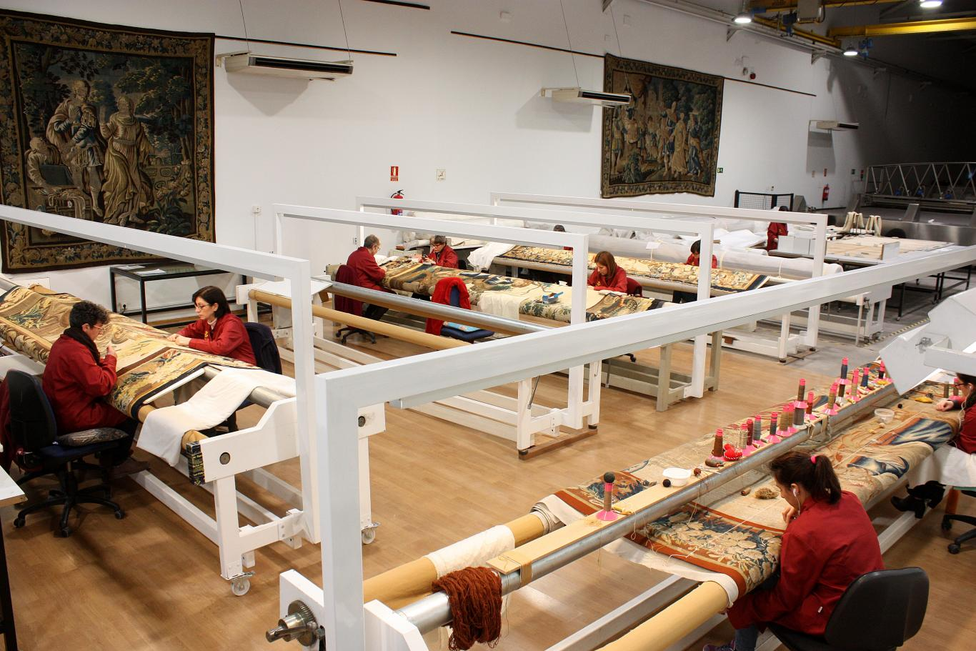 la Real Fábrica de Tapices